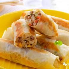 五彩大米卷  宝宝辅食食谱