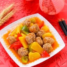 菠萝咕噜肉丸  宝宝辅食食谱
