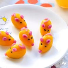 小老鼠汤圆  宝宝辅食食谱