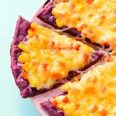 紫薯粗粮披萨  宝宝辅食食谱