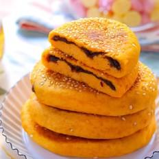 红薯豆沙饼  宝宝辅食食谱