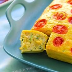 鸡蓉玉米烘蛋  宝宝辅食食谱