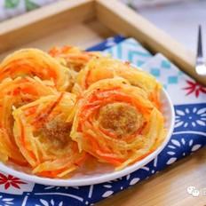 肉香鸟巢饼  宝宝辅食食谱