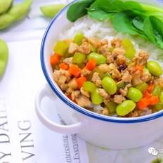 毛豆香菇饭  宝宝辅食食谱
