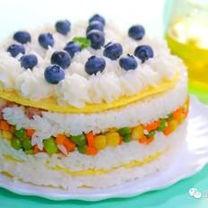 米饭蛋糕  宝宝辅食食谱