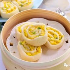 豆腐花卷  宝宝辅食食谱