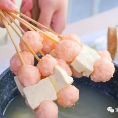 虾丸串串  宝宝辅食食谱