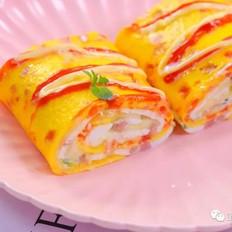 双色蛋卷  宝宝辅食食谱