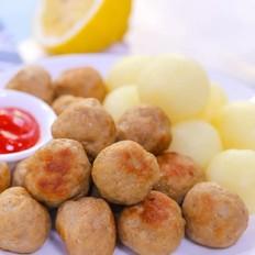 牛肉土豆丸  宝宝辅食食谱