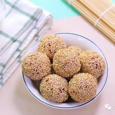 蔓越莓芝麻饭团  宝宝辅食食谱