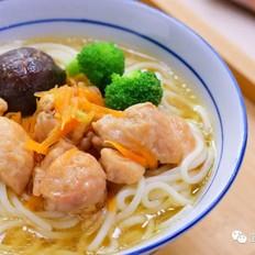 香菇鸡腿面  宝宝辅食食谱