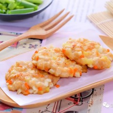 土豆鸡肉饼  宝宝辅食食谱