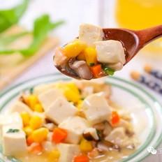 五色豆腐  宝宝辅食食谱