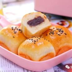 豆沙小面包  宝宝辅食食谱