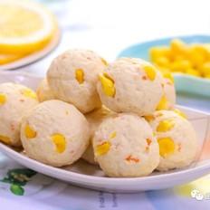 玉米鸡肉球  宝宝辅食食谱