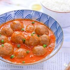 番茄牛肉丸  宝宝辅食食谱