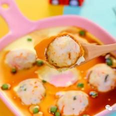 虾球蒸蛋  宝宝辅食食谱