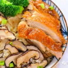 香菇鸡腿焖饭  宝宝辅食食谱