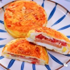 鸡蛋汉堡  宝宝辅食食谱