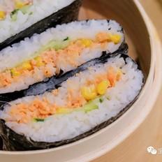 三文鱼包饭  宝宝辅食食谱