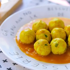 咖喱鱼蛋  宝宝辅食食谱