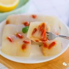 水晶梨糕  宝宝辅食食谱