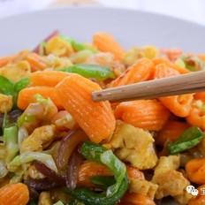 胡萝卜贝壳面  宝宝辅食食谱