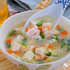 虾仁豆腐羹  宝宝辅食食谱