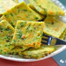 香菇油菜饼  宝宝辅食食谱