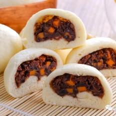 红薯豆沙包  宝宝辅食食谱