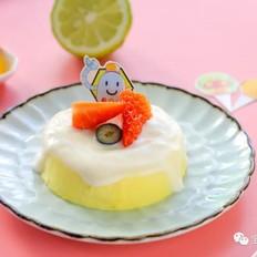 橙香酸奶蛋糕  宝宝辅食食谱