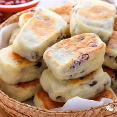 红豆发面饼  宝宝辅食食谱