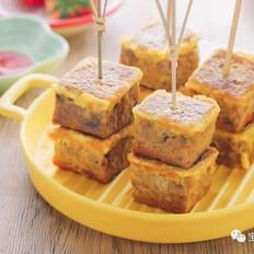 蛋香牛肉块【宝宝辅食食谱】