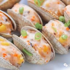 蛤蜊酿虾【宝宝辅食食谱】