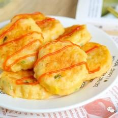 虾仁金针菇饼【宝宝辅食】的做法