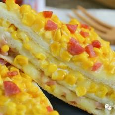 玉米奶酪三明治【宝宝辅食】