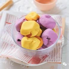 脆皮紫薯南瓜饼【宝宝辅食】