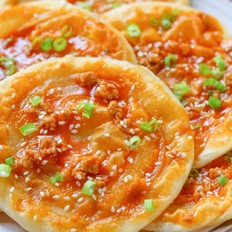 饺子皮酱香饼【宝宝辅食】