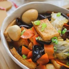 白菜豆腐煲【宝宝辅食】