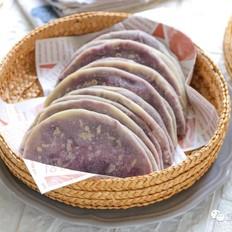 紫薯薄饼【宝宝辅食】