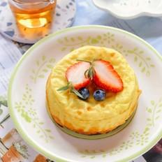 酸奶紫薯糕【宝宝辅食】的做法