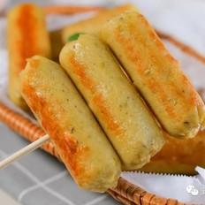 玉米鸡肉脆皮肠【宝宝辅食】的做法