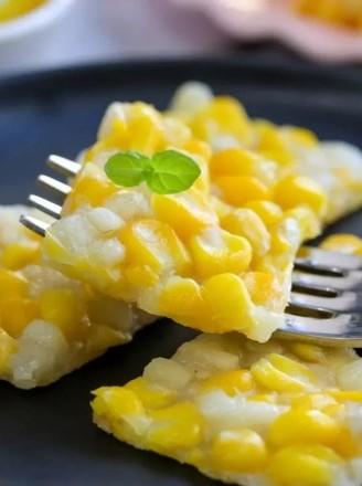馬蹄玉米烙  寶寶輔食食譜的做法