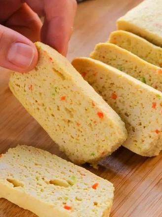 干贝豆腐蒸糕  宝宝辅食食谱的做法