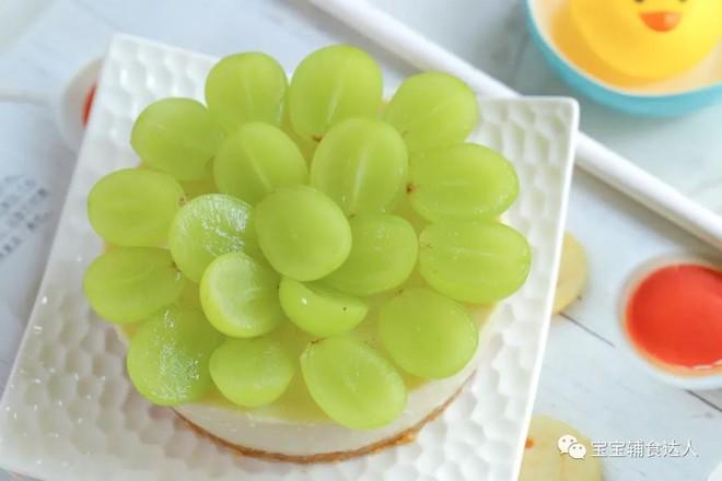 葡萄慕斯蛋糕【宝宝辅食】的做法