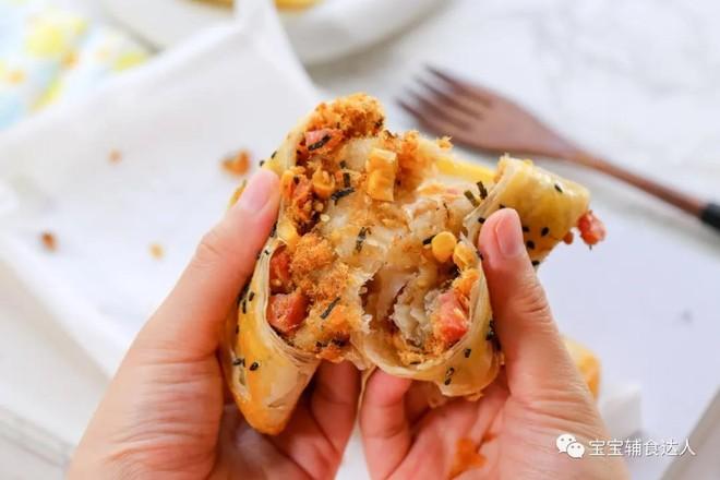 肉松脆脆饼【宝宝辅食】的做法