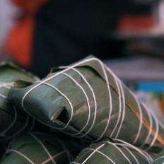 年味食足:裹粽子