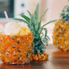 【初味日记】宜家网红菠萝冰淇淋的做法