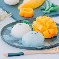 芒果椰香糯米饭【初味日记】