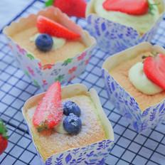 北海道蓝莓戚风【初味日记】